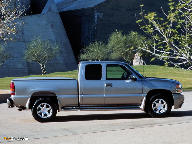 GMC Sierra C3 Extended Cab 1999–2002 photos (800 x 600)