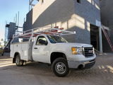 GMC Sierra 3500 HD wService Utility Body 2008 images