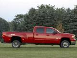 Images of GMC Sierra 3500 HD SLT Crew Cab 2007–10