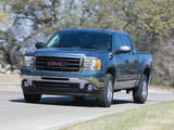 Images of GMC Sierra Hybrid Crew Cab 2008–13