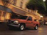 Photos of GMC Sierra Regular Cab 1999–2002