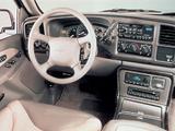 Photos of GMC Sierra C3 Extended Cab 1999–2002