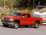 Photos of GMC Sierra Extended Cab 1999–2002
