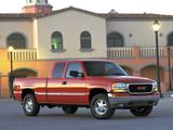 Photos of GMC Sierra Extended Cab 1999–2002