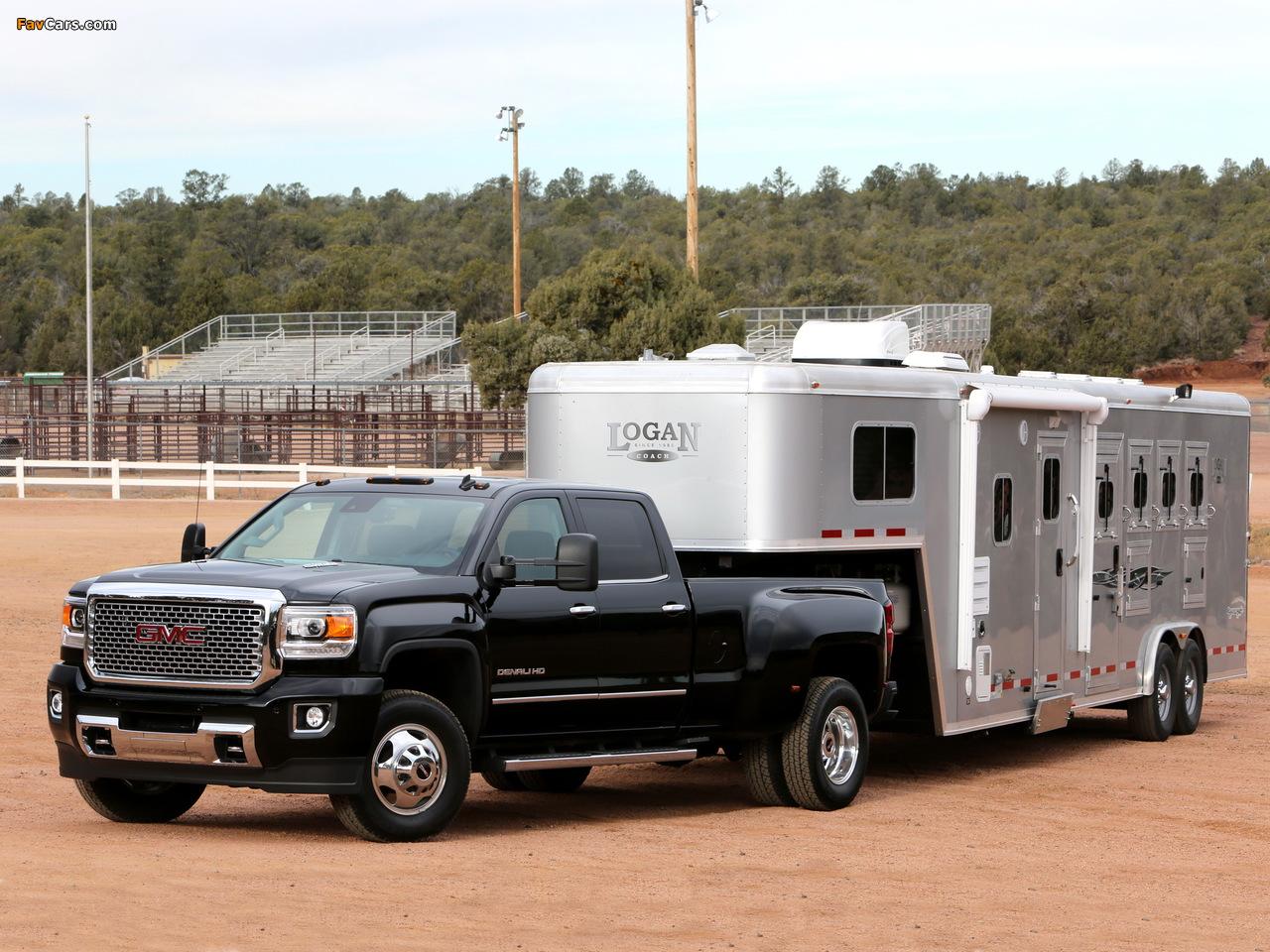 Photos of 2015 GMC Sierra Denali 3500 HD Crew Cab 2014 (1280 x 960)