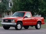 Pictures of GMC Sierra Regular Cab Work Truck 1992–98