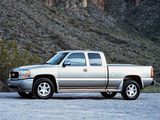 Pictures of GMC Sierra C3 Extended Cab 1999–2002