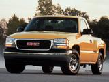 Pictures of GMC Sierra Regular Cab 1999–2002