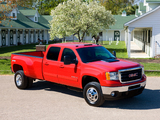 Pictures of GMC Sierra 3500 HD SLT Crew Cab 2010–13
