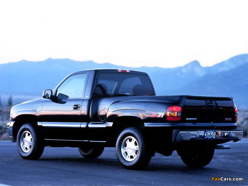 GMC Sierra Regular Cab 1999–2002 wallpapers (800 x 600)