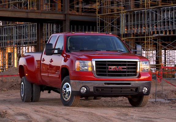 Gmc Sierra 3500 Hd Slt Crew Cab 200710 Wallpapers