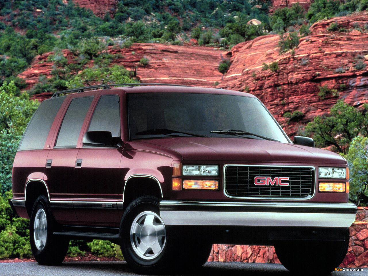 GMC Yukon 1992–99 images (1280 x 960)
