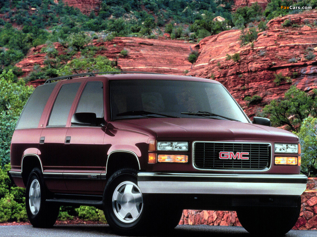 Gmc Yukon 1992 99 Images 1024x768