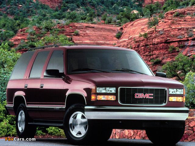 GMC Yukon 1992–99 images (640 x 480)