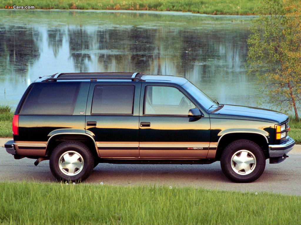 GMC Yukon 1992–99 photos (1024 x 768)
