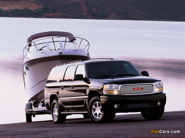 Pictures of GMC Yukon XL Denali 2001–06 (640 x 480)