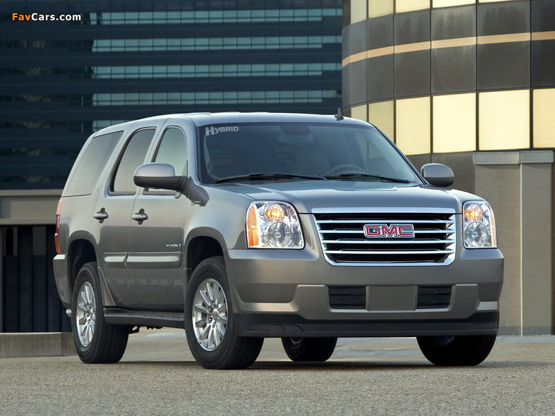 Pictures of GMC Yukon Hybrid 2008–14 (800 x 600)