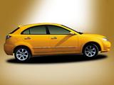 Haima 3 Hatchback (H11) 2008 wallpapers