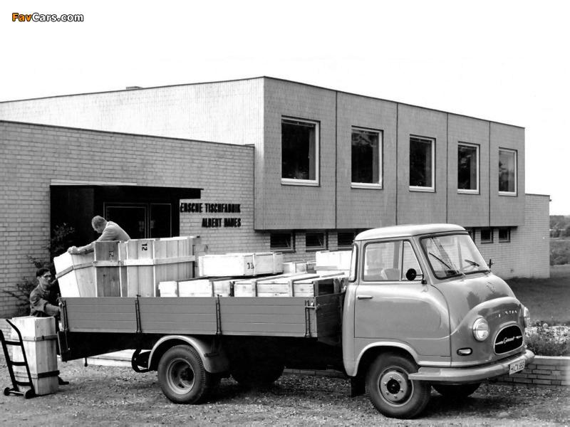 Images of Hanomag Garant Pritschenwagen 1959–67 (800 x 600)