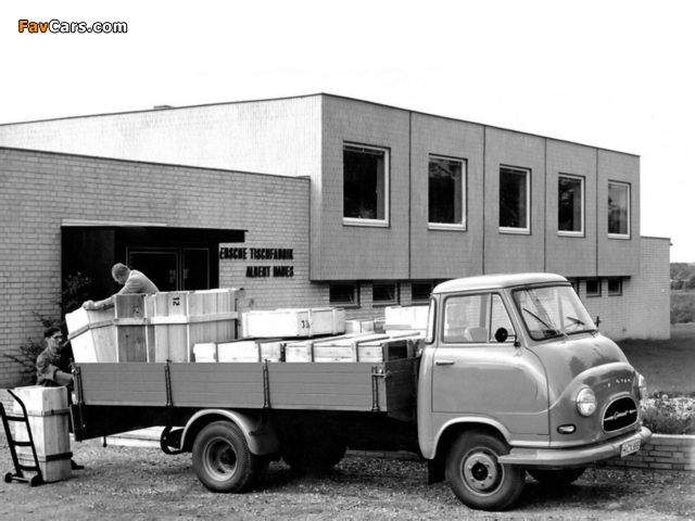 Images of Hanomag Garant Pritschenwagen 1959–67 (640 x 480)
