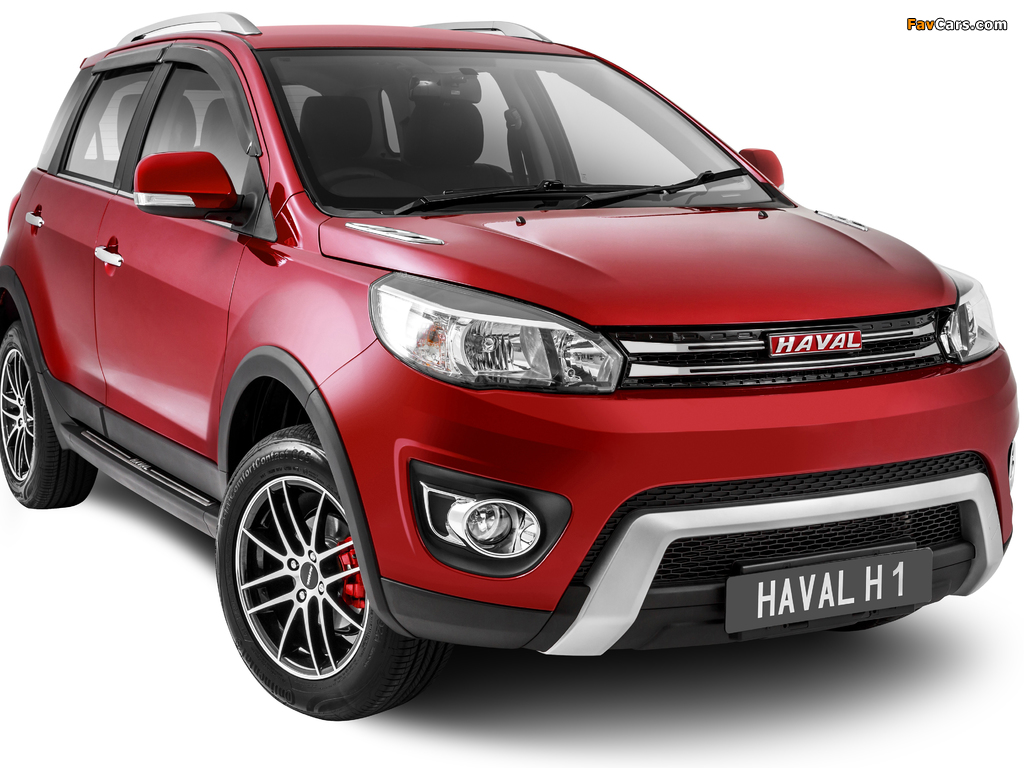 Haval H1 2017 wallpapers (1024 x 768)