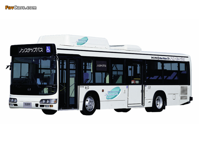 Pictures of Hino Blue Ribbon City Hybird 2001–05 (640 x 480)