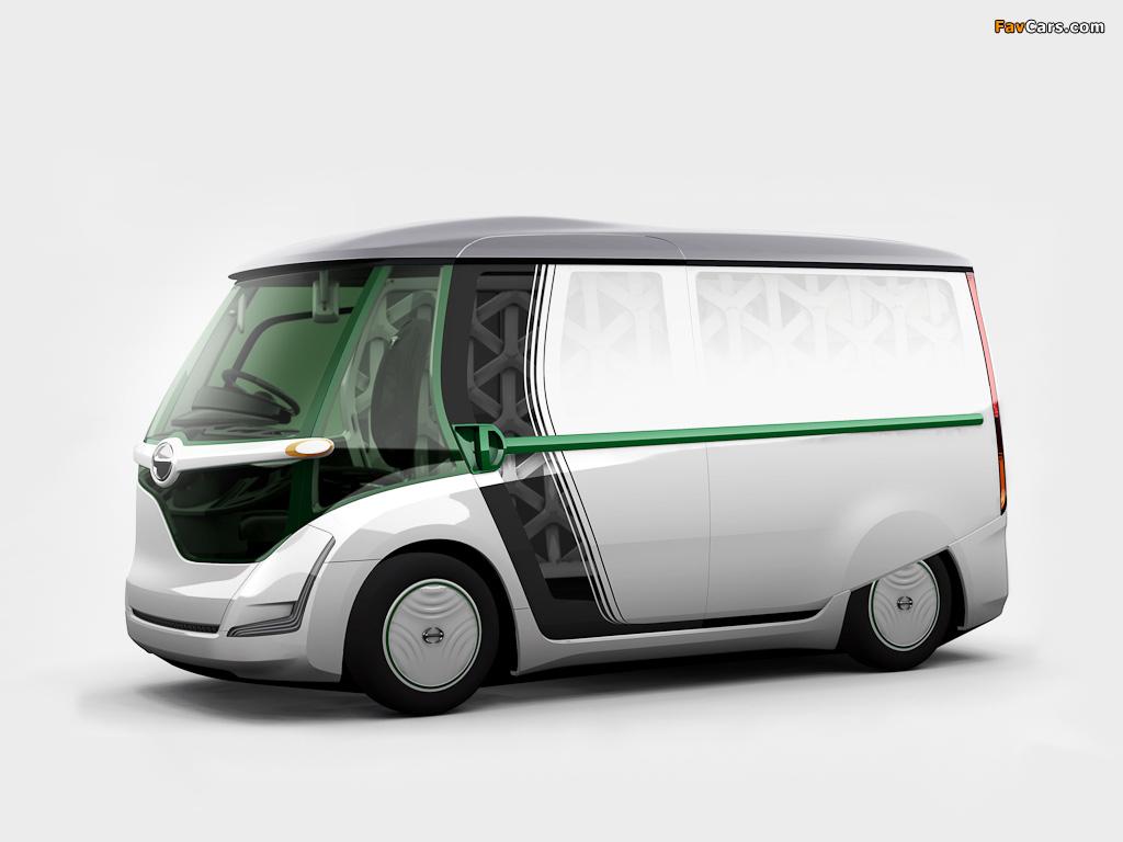 Hino EV Concept 2011 wallpapers (1024 x 768)