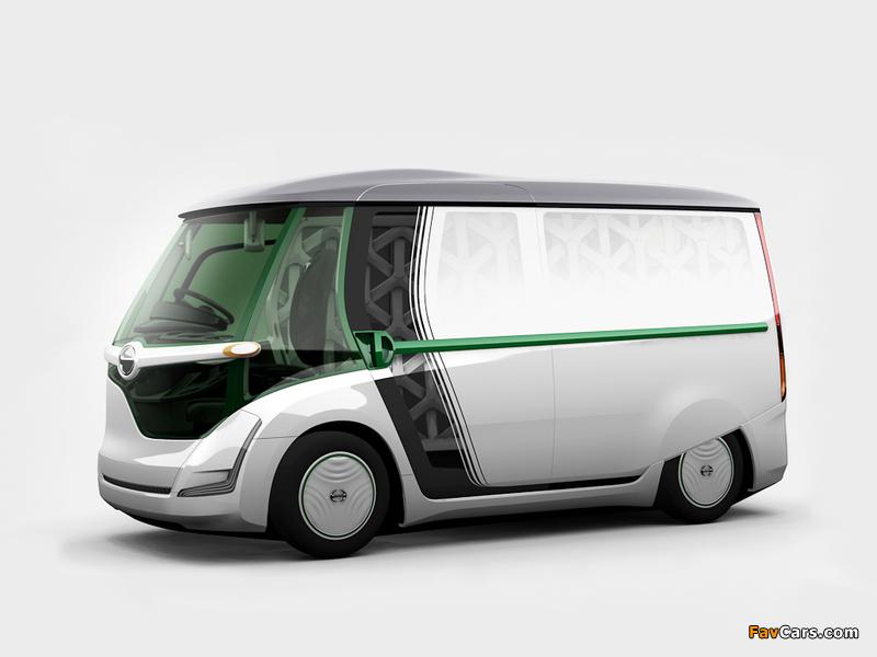 Hino EV Concept 2011 wallpapers (800 x 600)