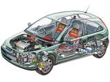 Holden XC Barina SRi 2000–03 photos
