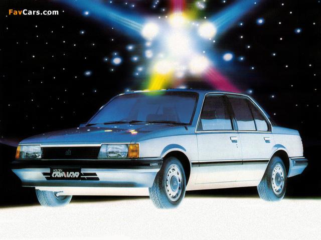 Holden JB Camira 1982–85 images (640 x 480)