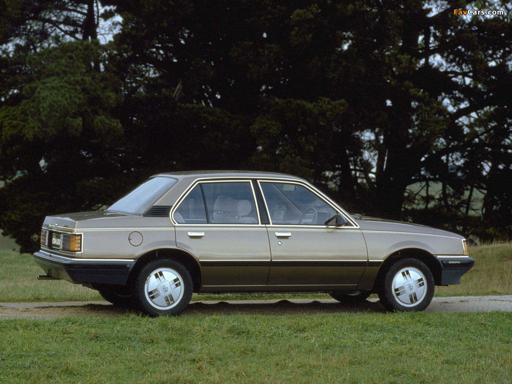 Pictures of Holden JB Camira 1982–85 (1024 x 768)