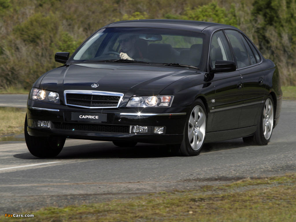 Holden WL Caprice 2004–06 images (1024 x 768)