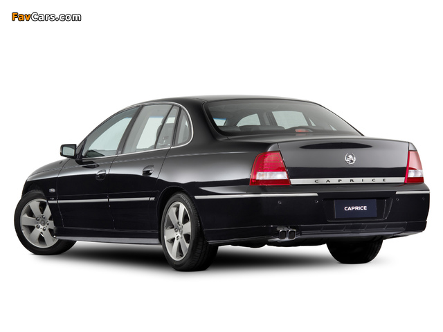 Holden WL Caprice 2004–06 images (640 x 480)