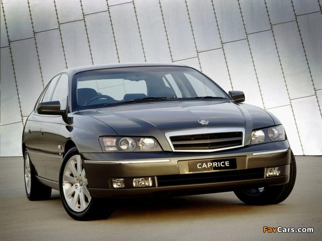 Holden WL Caprice 2004–06 pictures (640 x 480)