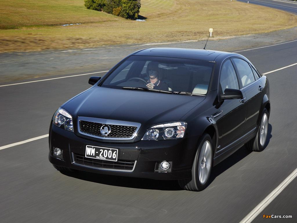 Holden WM Caprice 2006–10 images (1024 x 768)