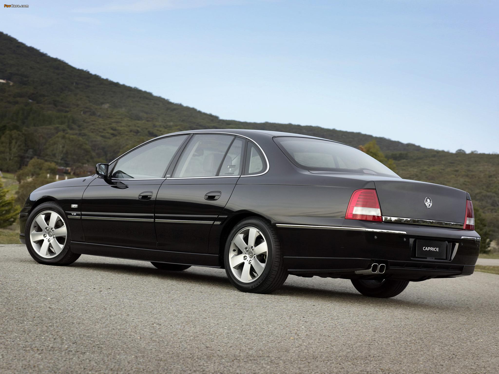 Photos of Holden WL Caprice 2004–06 (2048 x 1536)