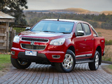Holden Colorado LTZ Crew Cab 2012 pictures