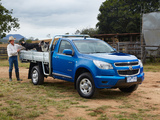 Holden Colorado LX Single Cab 2012 wallpapers