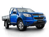 Images of Holden Colorado LX Single Cab 2012