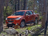 Pictures of Holden Colorado LTZ Crew Cab 2012