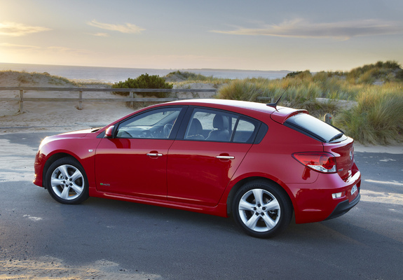 Holden Cruze Sri V Hatchback Jh 2011 Photos