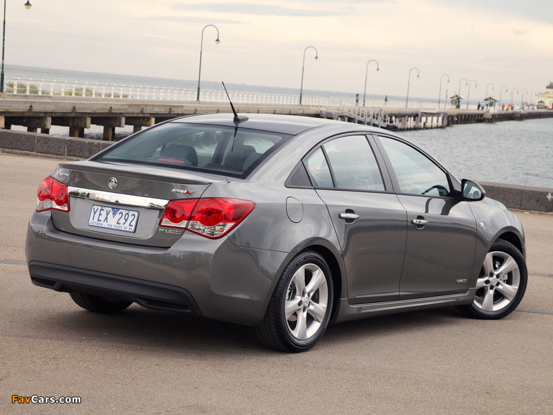 Holden Cruze Sri V Jh 2011 Photos 800x600