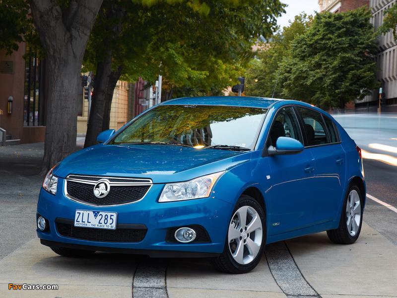 Holden Cruze Hatchback (JH) 2013 images (800 x 600)