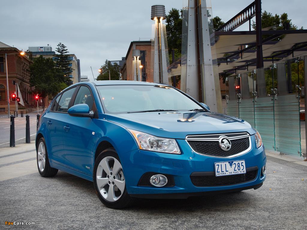 Images of Holden Cruze Hatchback (JH) 2013 (1024 x 768)