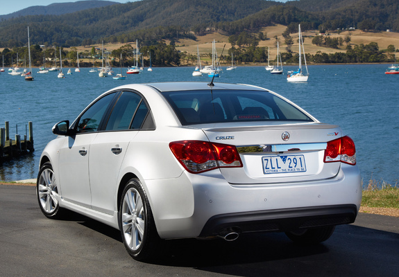 Photos Of Holden Cruze Sri V Jh 2011