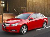 Pictures of Holden Cruze (JG) 2009–11