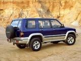 Holden Jackaroo 5-door 1998–2001 photos