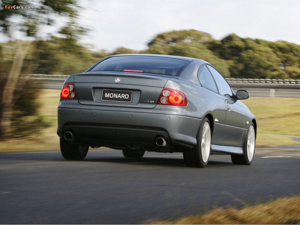 Holden Monaro 2001–05 photos (1024 x 768)