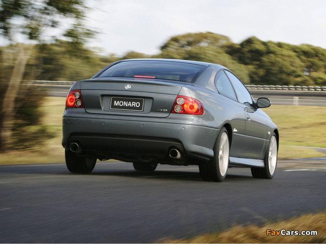 Holden Monaro 2001–05 photos (640 x 480)