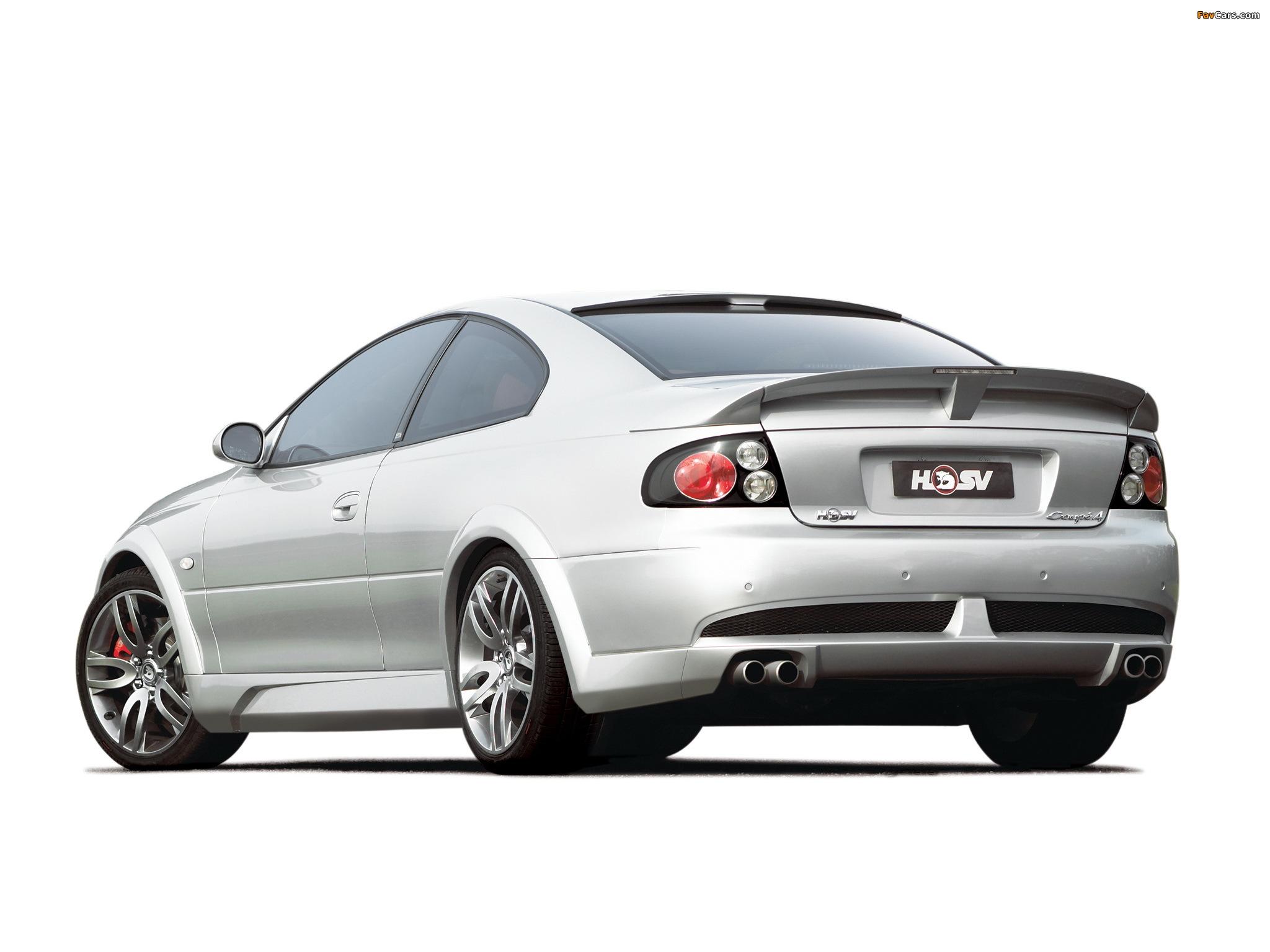 Photos of HSV Coupe 4 2004–05 (2048 x 1536)